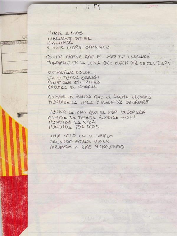 Mis primeros manuscritos - Hector Rios