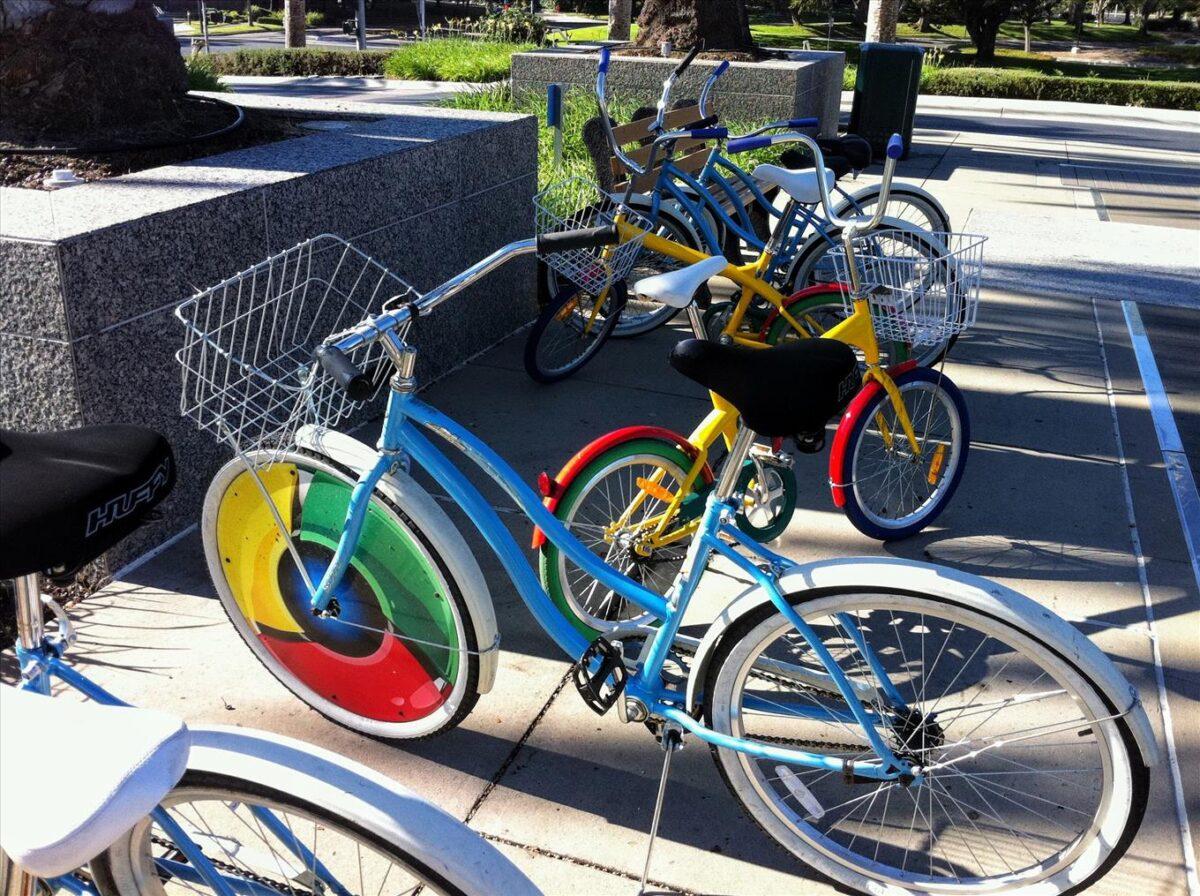 Bicicletas en las Instalaciones de Google