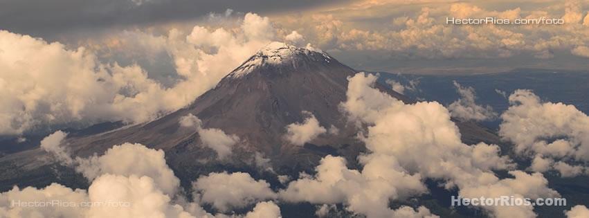 Cima del Volcán Popocatépetl