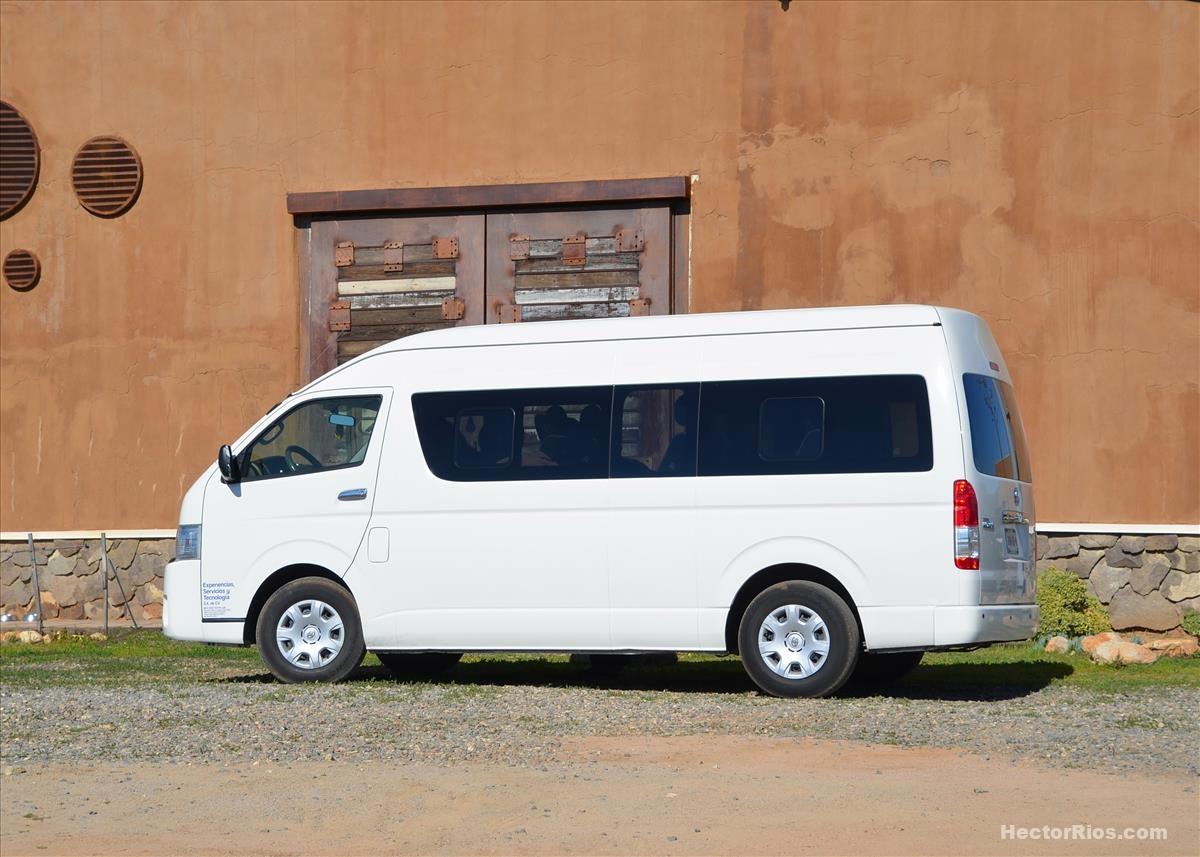 Transporte Turístico de Lujo tipo Van
