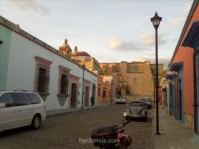 Calles del Centro Histórico de Oaxaca, México