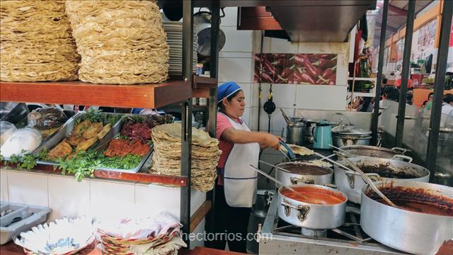 Gastronomía deliciosa en Oaxaca, México