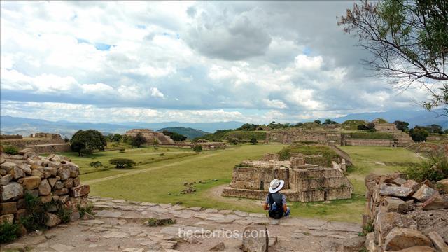 Monte Albán, Zona Arqueológica en Oaxaca, México