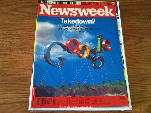 Portada de la Revista Newsweek en 2007